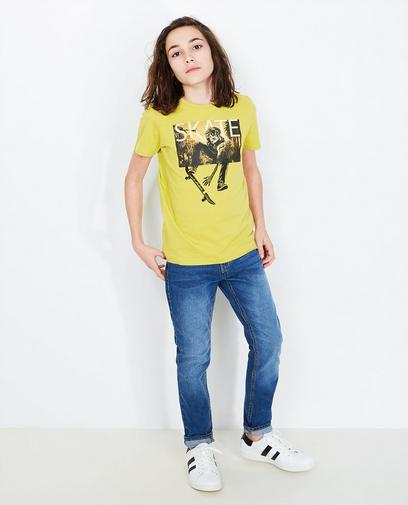 T-shirt met skaterprint